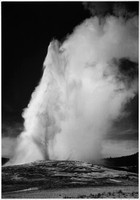 Old Faithful, Ansel Adams 1942